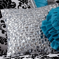 Rogue Designs - Diva Gem Pillow - Girls Bedding