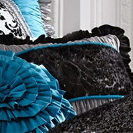 Rogue Designs - Diva Lace Accent Pillow