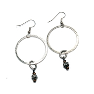 Ronda Smith Designs E61 Silver Earrings