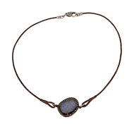 Ronda Smith Designs Jewelry Elle 30 Genuine Leather Necklace