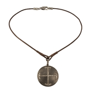 Ronda Smith Designs Jewelry Elle 34 Genuine Leather Necklace