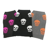 Skull Dog Mini Luther Pet Sweater by 360 Cashmere