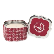 Votivo Holiday Quatrefoil Red Currant Scented Candle