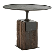 Arteriors Home Anvil Entry Table DD2062 in Black-Iron