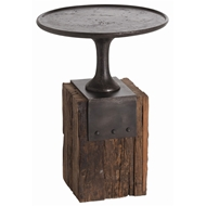 Arteriors Home Anvil Occasional Table DD2029 in Black-Iron
