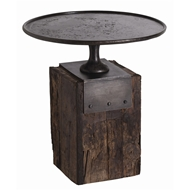 Arteriors Home Anvil Side Table DD2028 in Brown-Iron