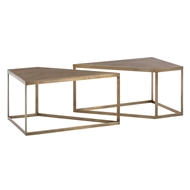 Arteriors Home Austin Cocktail Table, Set of 2 4520 - Iron