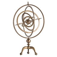 Arteriors Home Copernicus Armillary DD2063 in Yellow-Brass
