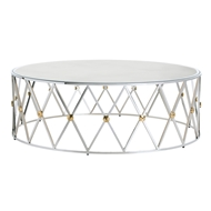 Arteriors Home Corinth Coffee Table DS9006 - Steel
