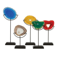 Arteriors Home Florence Sculptures Set of 5 9999 Multi-colored - Agate