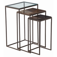 Arteriors Home Knight Large Nesting Tables, Set of 3 6524 - Iron