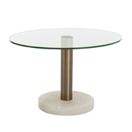 Arteriors Home Landon Side Table 9110 - Marble