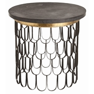 Arteriors Home Orleans Side Table 6557 - Iron