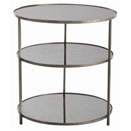 Arteriors Home Percy Side Table 6682 - Iron