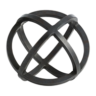 Arteriors Home Serena Small Sculpture 4178 Black - Iron