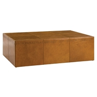 Arteriors Home Tholos Coffee Table DS2006 - Leather