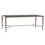 Arteriors Home Tippin Cocktail Table 2220 - Brass Sheet