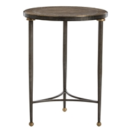 Arteriors Home Tippin End Table 2801 - Brass Sheet