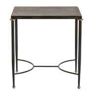 Arteriors Home Tippin Side Table 2120 - Brass Sheet