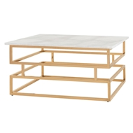 Arteriors Home Troy Coffee Table DS9007 - Steel