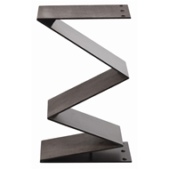 Arteriors Home Zippe Side Table DD2000 in Black-Iron