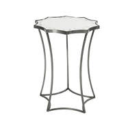 Aidan Gray Home Astre Side Table in Steel F187 Steel