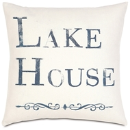 Eastern Accents Lake House Pillows in Adler Natural 100% Cotton