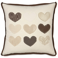 Eastern Accents At Last Pillows in Witcoff Ivory (Reversible) 60% Polyester, 40% Cotton