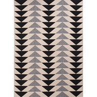 Jaipur Mckenzie Rug From Patio Collection PAO04 - Ivory/Black