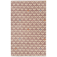Jaipur Sprouts Rug From Playful By Petit Collage Collection PBP06 - Purple/Ivory