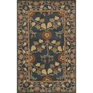 Jaipur Rodez Rug From Poeme Collection PM133 - Blue