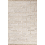 Jaipur Holmes Rug From Prescot Collection PRC02 - Ivory/White