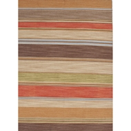Jaipur La Palma Rug From Pura Vida Collection PV22 - Red/Brown
