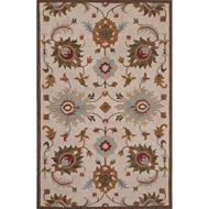 Jaipur Reflection Rug From Reverie Collection REV03 - Ivory/Brown