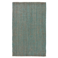 Jaipur Annika Rug From Naturals Tobago Collection NAT17 - Neutral/Blue