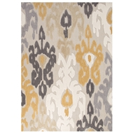 Jaipur Aries Rug From Devine Collection DEV19 - Yellow/Dark Gray