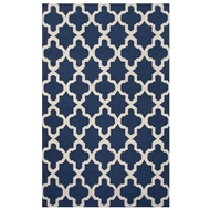 Jaipur Aster Rug From Maroc Collection MR107 - Blue/Ivory