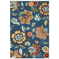 Jaipur Botanic Rug From Blossom Collection BSM04 - Blue