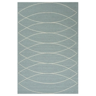 Jaipur Canoe Rug From Grant I-O Collection GD24 - Blue/Ivory