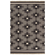 Jaipur Cheffield Rug From Anatolia Collection AT12 - Gray/Black