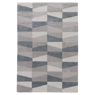 Jaipur Costello Rug From Fusion Collection FN48 - Gray/Blue