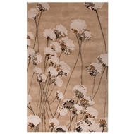 Jaipur Cotton Blossom Rug From En Casa By Luli Sanchez LST29 - Taupe/Ivory