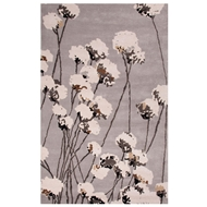 Jaipur Cotton Blossom Rug From En Casa By Luli Sanchez LST30 - Gray/Ivory