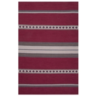 Jaipur Cuzco Rug From Traditions Made Modern Cotton Flat Weave Collection MCF01 - Pink/Gray
