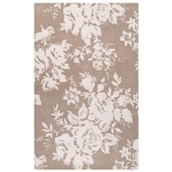 Jaipur Dora Rug From Shadow Collection SHO05 - Gray/Ivory
