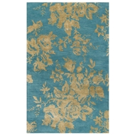Jaipur Dora Rug From Shadow Collection SHO06 - Blue/Green
