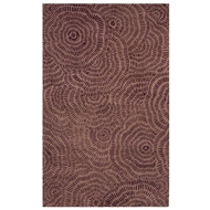 Jaipur Dotted Flower Rug From En Casa By Luli Sanchez LST34 - Purple/Ivory