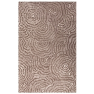 Jaipur Dotted Flower Rug From En Casa By Luli Sanchez LST33 - Taupe/Ivory