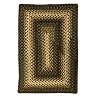 Jaipur Driftwood Rug From Ultra Durable Braided Rugs Collection UBR04 - Taupe/Ivory