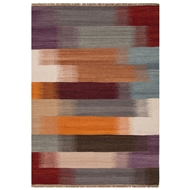 Jaipur Eclectic Rug From Spectra Collection SPC01 - Multi-Colored/Red